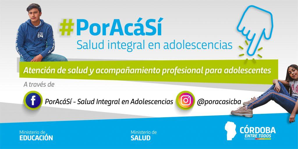 Lanzan #PorAcáSí, acompañamiento virtual para adolescentes